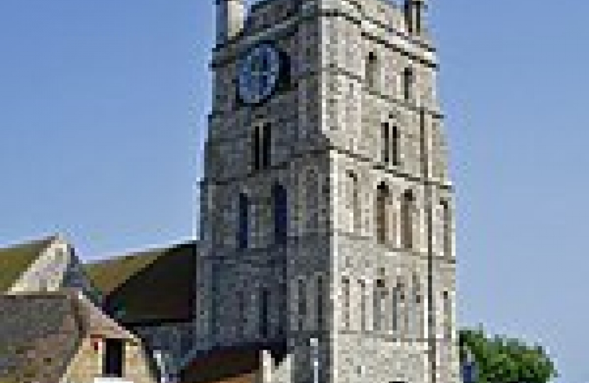 New Romney Church Tower picture